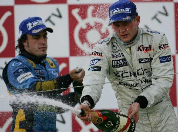 Fernando Alonso und Kimi Räikkönen