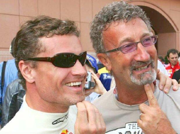 David Coulthard und Eddie Jordan