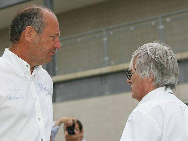 Ron Dennis und Bernie Ecclestone