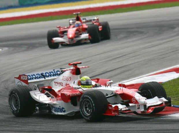 Ralf Schumacher vor Felipe Massa