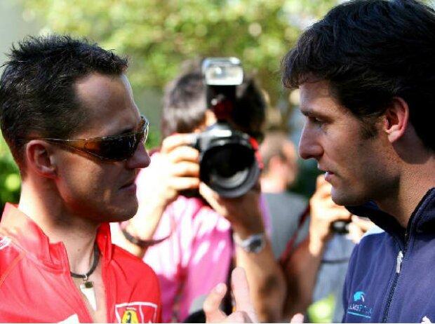 Michael Schumacher Mark Webber