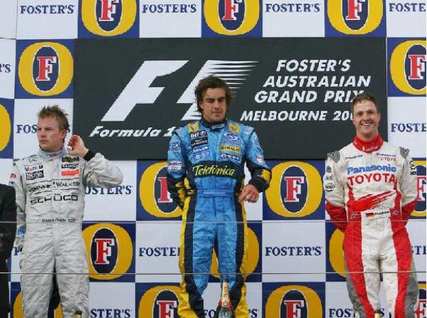 Podium in Australien 2006