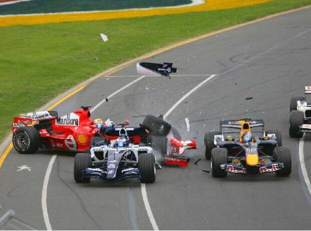 Felipe Massa, Christian Klien und Nico Rosberg