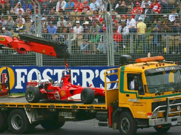Unfallauto von Michael Schumacher