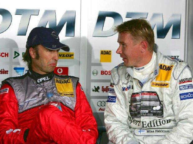 Heinz-Harald Frentzen und Mika Häkkinen