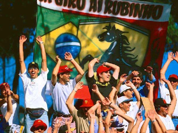 Fans von Rubens Barrichello