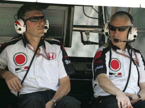 Nick Fry und Geoff Willis