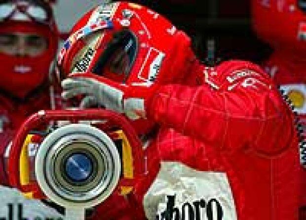 Tankrüssel bei Ferrari