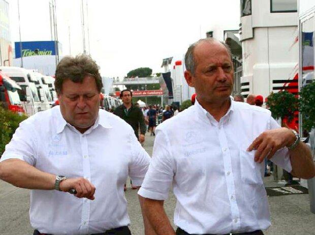 Norbert Haug und Ron Dennis