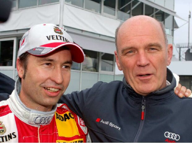 Heinz-Harald Frentzen und Wolfgang Ullrich
