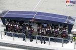 Kommandostand der Scuderia Toro Rosso