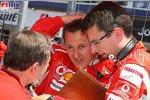 Jean Todt (Teamchef) (Ferrari), Michael Schumacher (Ferrari)