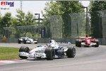 Felipe Massa (Ferrari), Jacques Villeneuve (BMW Sauber F1 Team)