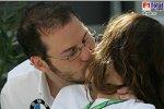 Jacques Villeneuve (BMW Sauber F1 Team) und Frau Johanna