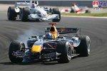 David Coulthard (Red Bull Racing), Robert Kubica (BMW Sauber F1 Team)