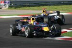 Christian Klien (Red Bull Racing), David Coulthard (Red Bull Racing)