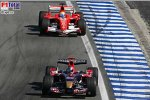 Felipe Massa (Ferrari), Vitantonio Liuzzi (Scuderia Toro Rosso)