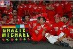 Felipe Massa (Ferrari), Jean Todt (Teamchef) (Ferrari), Michael Schumacher (Ferrari), Ross Brawn (Technischer Direktor) (Ferrari)