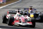 Robert Doornbos (Testfahrer) (Red Bull Racing), Sakon Yamamoto (Super Aguri F1 Team)