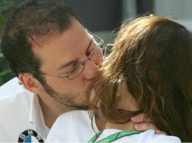 Jacques Villeneuve und seine Johanna