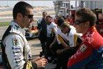 Dario Franchitti und Marco Andretti