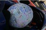 Sarah Fischers Helm