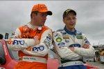 Henning Solberg (Peugeot), Mikko Hirvonen (Ford World Rally Team)