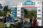 Manfred Stohl(Peugeot), Mikko Hirvonen (Ford World Rally Team), Marcus Grönholm (Ford World Rally Team)
