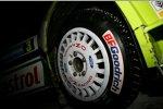 Rallye-Reifen mit Spikes