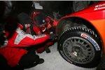 Reifen mit Spikes