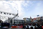 Siegerehrung der Rallye Norwegen