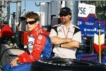 Marco Andretti (mit Vater Michael)  Andretti Green