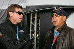 Troy Aikman (links) und Kevin Costner