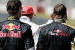 David Coulthard (Red Bull) und Scott Speed (Toro Rosso)