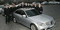 DTM-Aufgebot Mercedes-Benz 2007