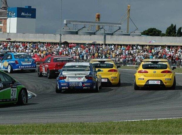 WTCC-Feld in Curitiba
