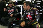 Juan Pablo Montoya (links) und David Stremme
