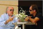 David Richards und Gerhard Berger (Teamanteilseigner) (Toro Rosso)