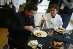Schauspieler Patrick Dempsy und Jeff Gordon