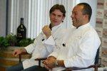 Jeff Gordon mit Koch Victor Scargle