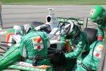 Reparaturstopp bei Tony Kanaan (Andretti Green)
