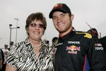 Brian Vickers (Red Bull) mit Mutter Ramona Vickers