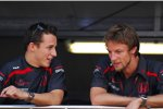Christian Klien und Jenson Button (Honda F1 Team)