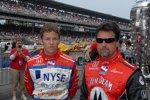 Vater und Sohn: Marco Andretti und Michael Andretti (Andretti Green)