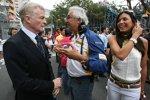 Max Mosley (FIA-Präsident) und Flavio Briatore (Teamchef) (Renault)