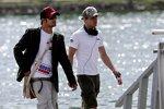 Vitantonio Liuzzi und Scott Speed (Toro Rosso)