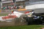 Nico Rosberg (Williams) und Jarno Trulli (Toyota)