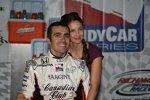 Dario Franchitti (Andretti Green) mit Ehefrau Ashley Judd