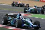 Jenson Button vor Rubens Barrichello (Honda F1 Team)