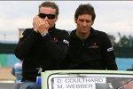 David Coulthard und Mark Webber (Red Bull)
